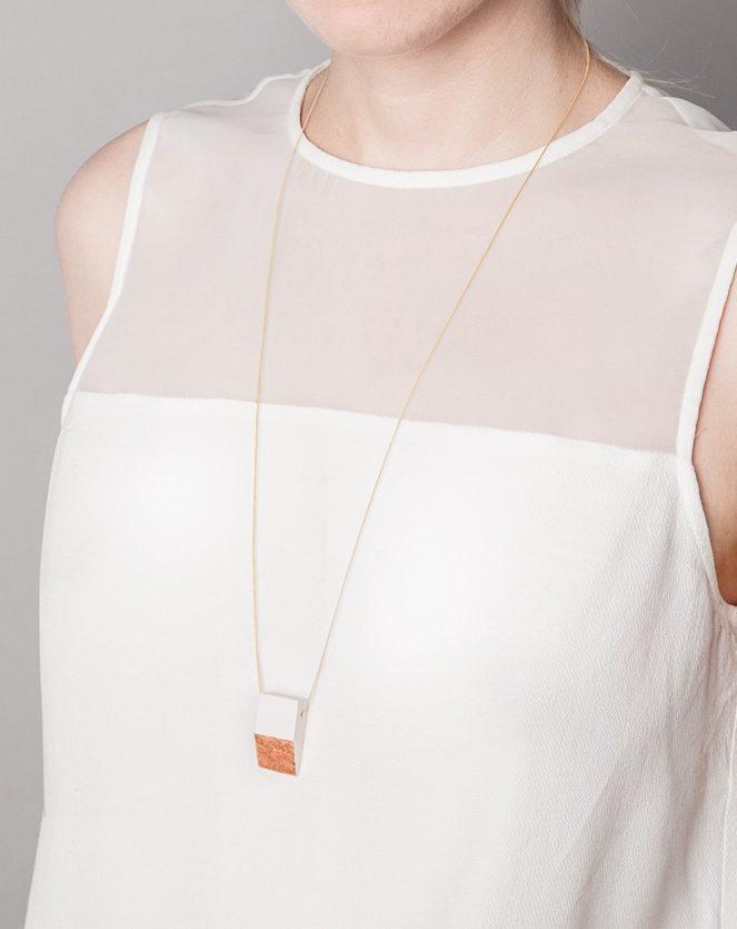 handgefertigter minimalistischer schmuck frija hvid