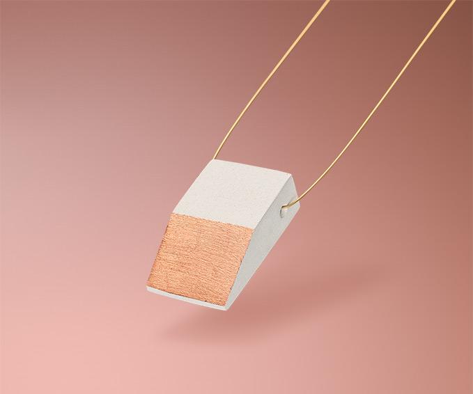 Minimalistischer handgefertigter Schmuck von Frija Hvid