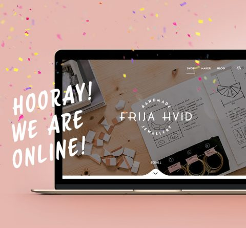 Frija Hvid - Website Launch